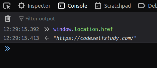 `window.location.href` in Firefox